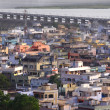 Indian City Vijayawada — Stock Photo