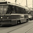 Street trams on Toronto — Stock Photo