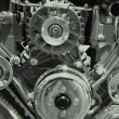 Automobile engine — Stock Photo #7961741