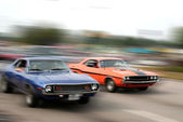 Muscle Cars — Stock Photo