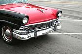 Classic car cruising — Stock Photo