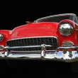 Red old chevy car — Stock Photo #7986059