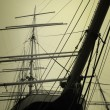Masts Of A Ship — Stock Photo
