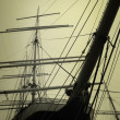 Stock Photo: Masts Of Ship