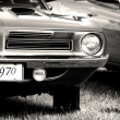 Stock Photo: 1970 Vintage Car