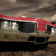 Постер, плакат: Red Muscle Car