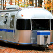 Old Caravan - Stock Photo
