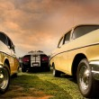Two Muscle Cars - Stock Photo