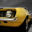 ������, ������: Yellow Muscle Car