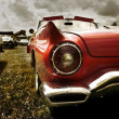 Red Classic Car — Stock Photo #7989346