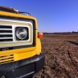 Yellow Truck — Stock Photo #7989369