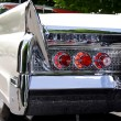 Classic car rear end — Stock Photo