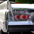 Stock Photo: Classic car rear end