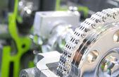 自動車のエンジン — ストック写真