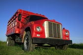 Red Truck — Fotografia Stock