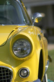 Yellow Classic Car — Stock Photo