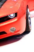 Orange Sports Car — Stock Photo