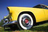 Yellow Classic Car — Stock Photo