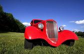 Red Vintage Car — 图库照片