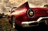 Close up shot of a vintage car — Stock Photo