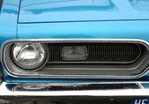 Head Lamp Of Classic Car — Stock Photo
