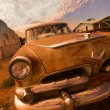 Rustic car — Stock Photo