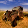 Rustic car - Stock Photo