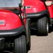 Golf carts - Foto de Stock