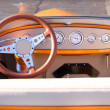 Classic car interiors — Stock Photo