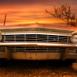 Stock Photo: Old classic car
