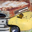 Old rustic car - Stock Photo