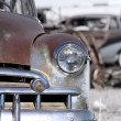 Rustic cars — Stock Photo