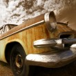 Old rustic car — Stock Photo #7990569