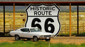 Historic Route 66 — Stock Photo