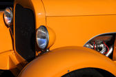 Orange classic car — Stock Photo