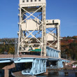 Vertical lift bridge - ストック写真