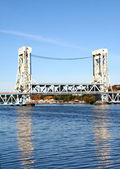Vertical Lift Bridge — Stock Photo