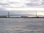 Ambassador Bridge — Stock Photo