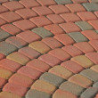 Royalty-Free Stock Photo: Patio Brick Pattern