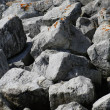 Big Grey Colored Rocks — Stock Photo #8042349