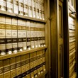 Law Book Library — Stockfoto #8042588