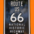 Route 66 board — Stock Photo