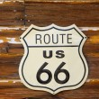 Route 66 road sign — Stock Photo