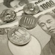 Japanese currency - Stockfoto