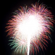 Stock Photo: Beautiful fireworks