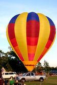 Hot air balloon festival — Stock Photo