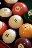 Pool Balls — Stock fotografie
