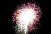 Beautiful fireworks — Stock Photo