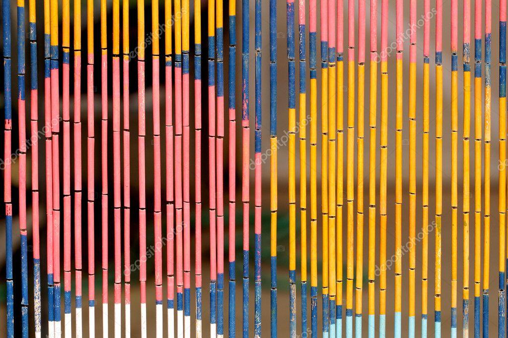 Cortina de bamb foto de stock 8042971 depositphotos - Cortina de bambu ...