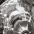 Stock Photo: Automobile engine
